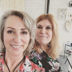 Gerardine en Josje